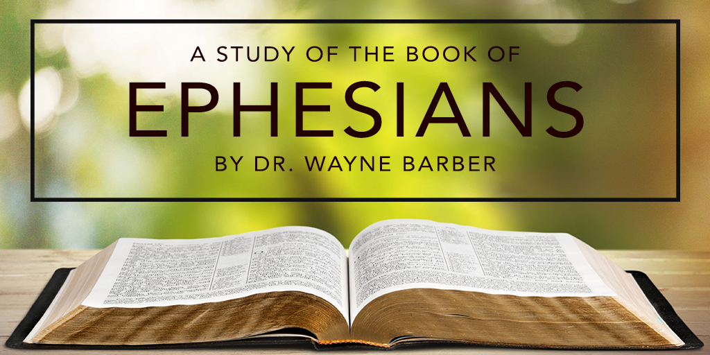 Ephesians - Wayne Barber - Eph 1:7 - Redeemed - How I love to proclaim it - Audio | John Ankerberg Show - John Ankerberg Show