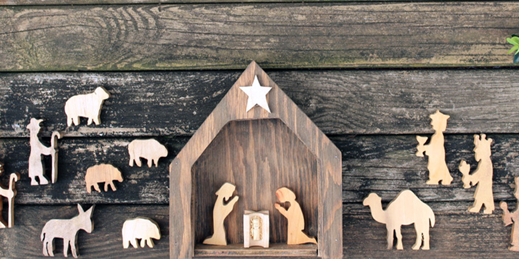 NAtivity Scene Wood - 865