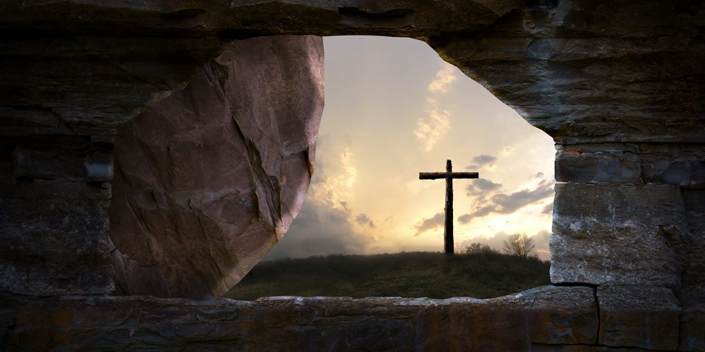 Cross-through-tomb