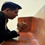 Engaged in Prayer (Prayer Warrior)