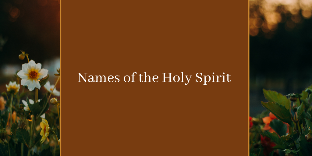 Names of the Holy Spirit Download