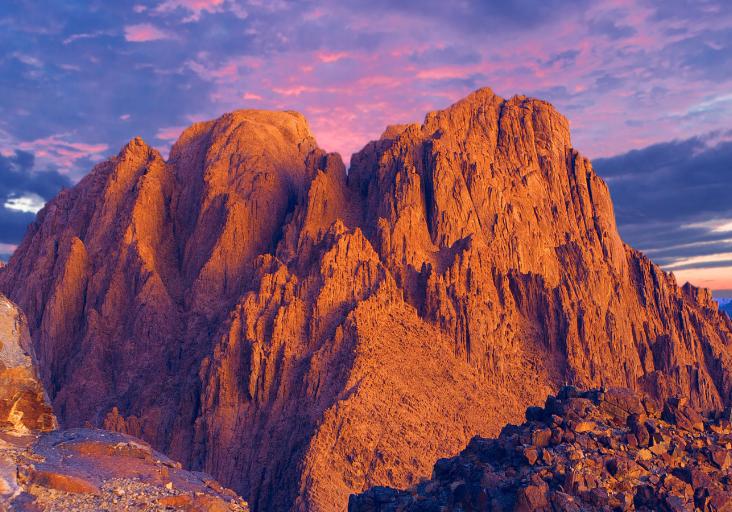Mount Sinai Ten Commandments