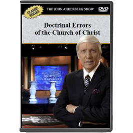 The Doctrinal Errors of the Church of Christ concerning Baptism and Its Relationship to Salvation (Lecture 1) - DVD-0
