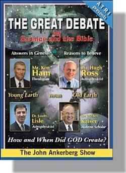 The Great Debate on Science and the Bible - DVD-0