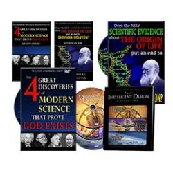 The Four Great Discoveries of Modern Science that Proves God Exists Package Offer