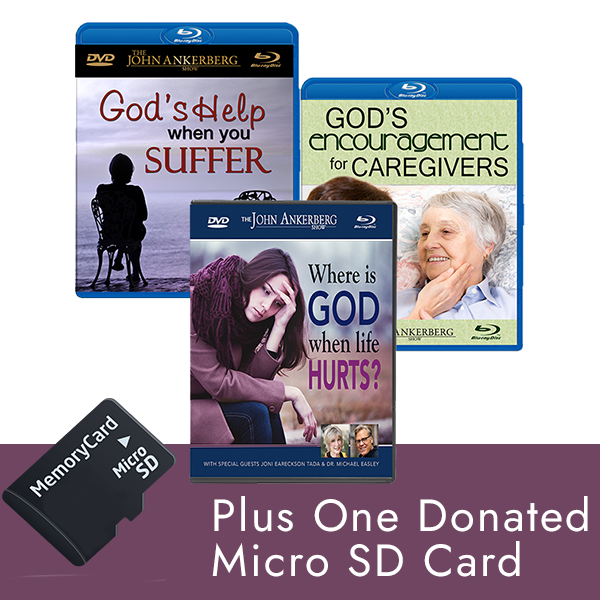 Where is God When Life Hurts? – Package Offer with SD Card