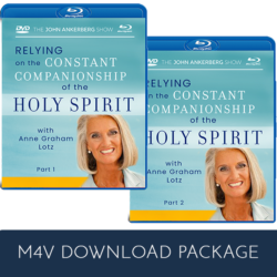 Relying on The Constant Companionship of The Holy Spirit - M4V Package Offer