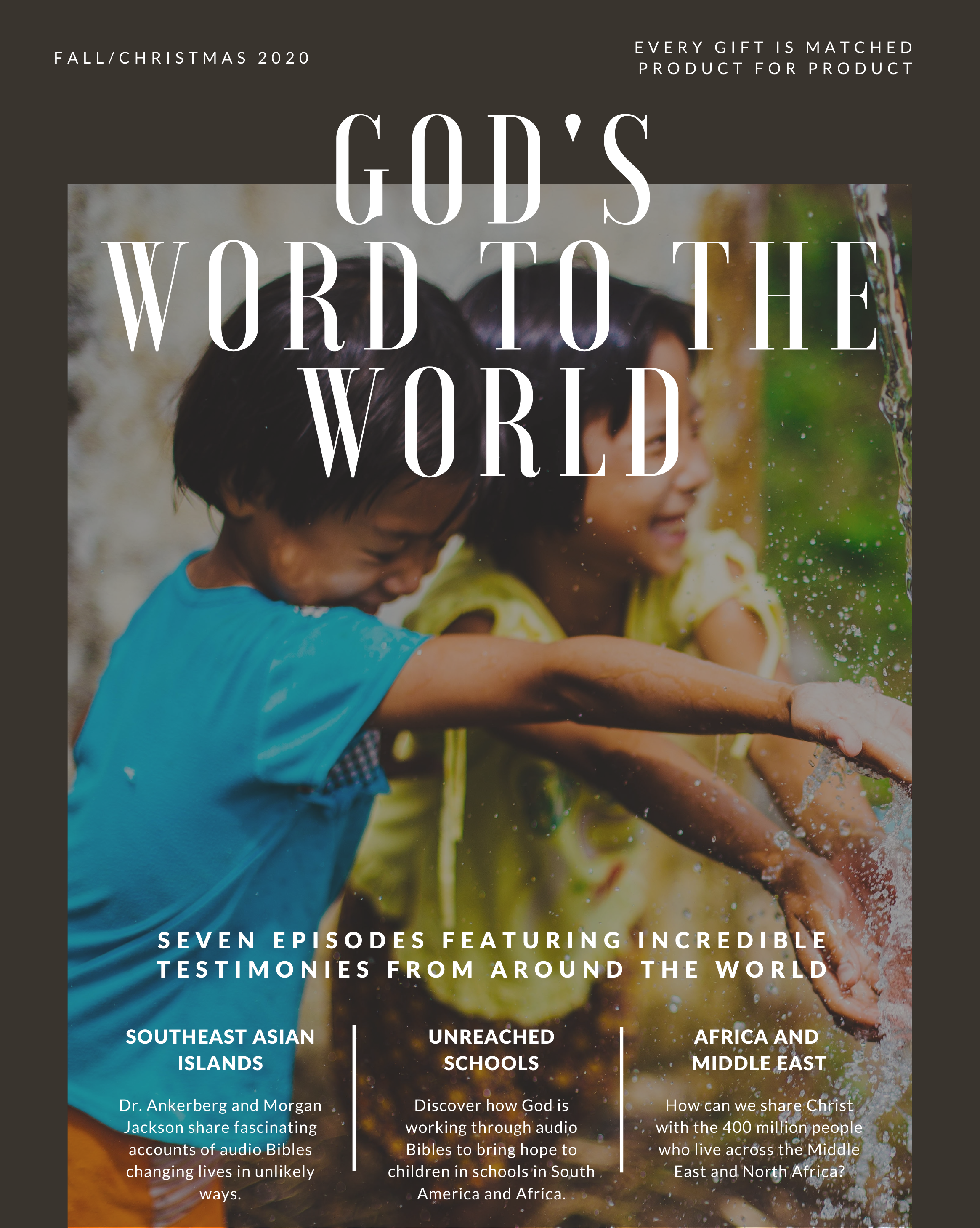 God's Word to the World Option 2