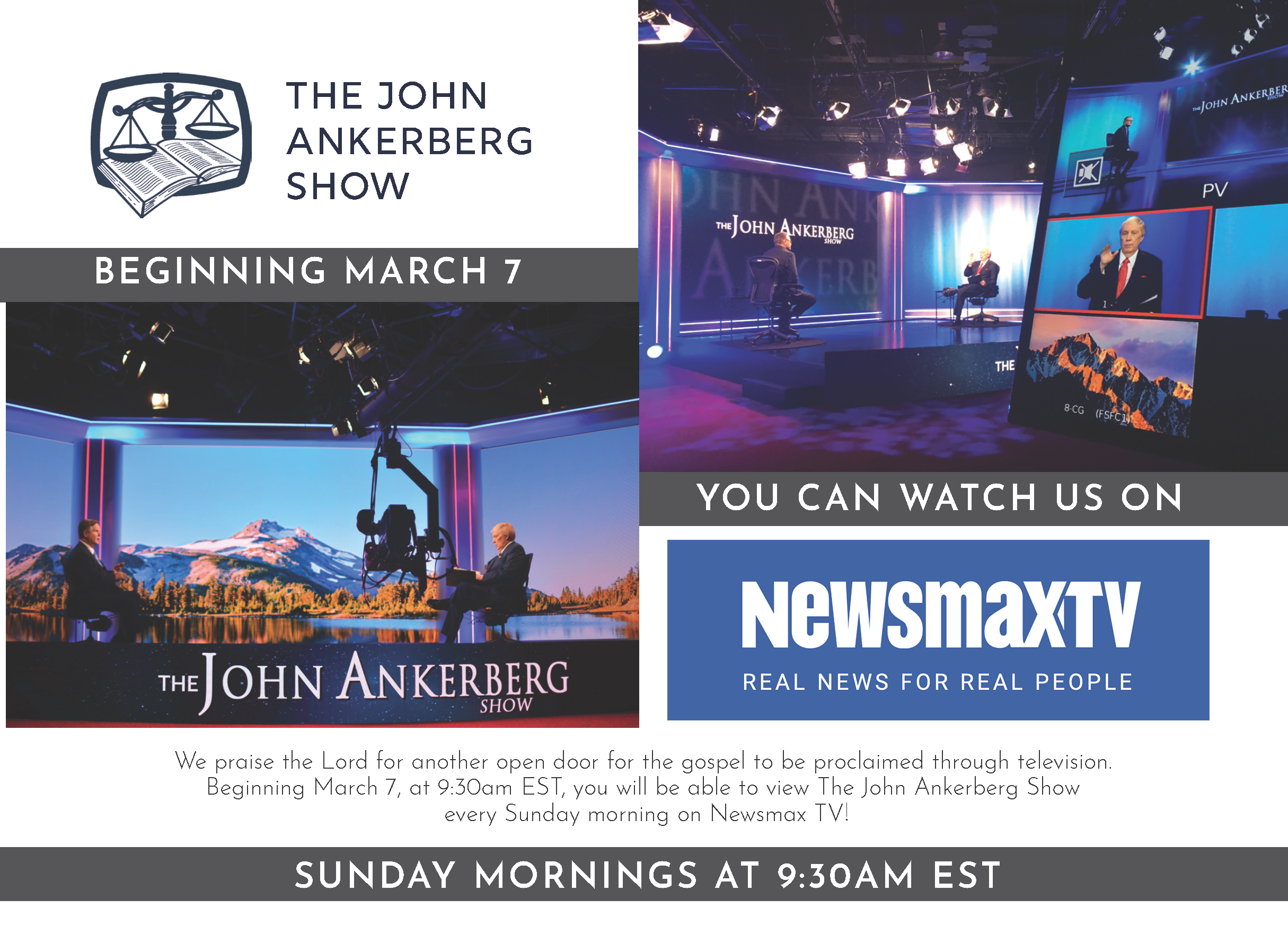 Newsmax TV Announcement
